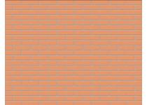 Кирпич облицовочный абрикос одинарный гладкий М-150 НЗКМ